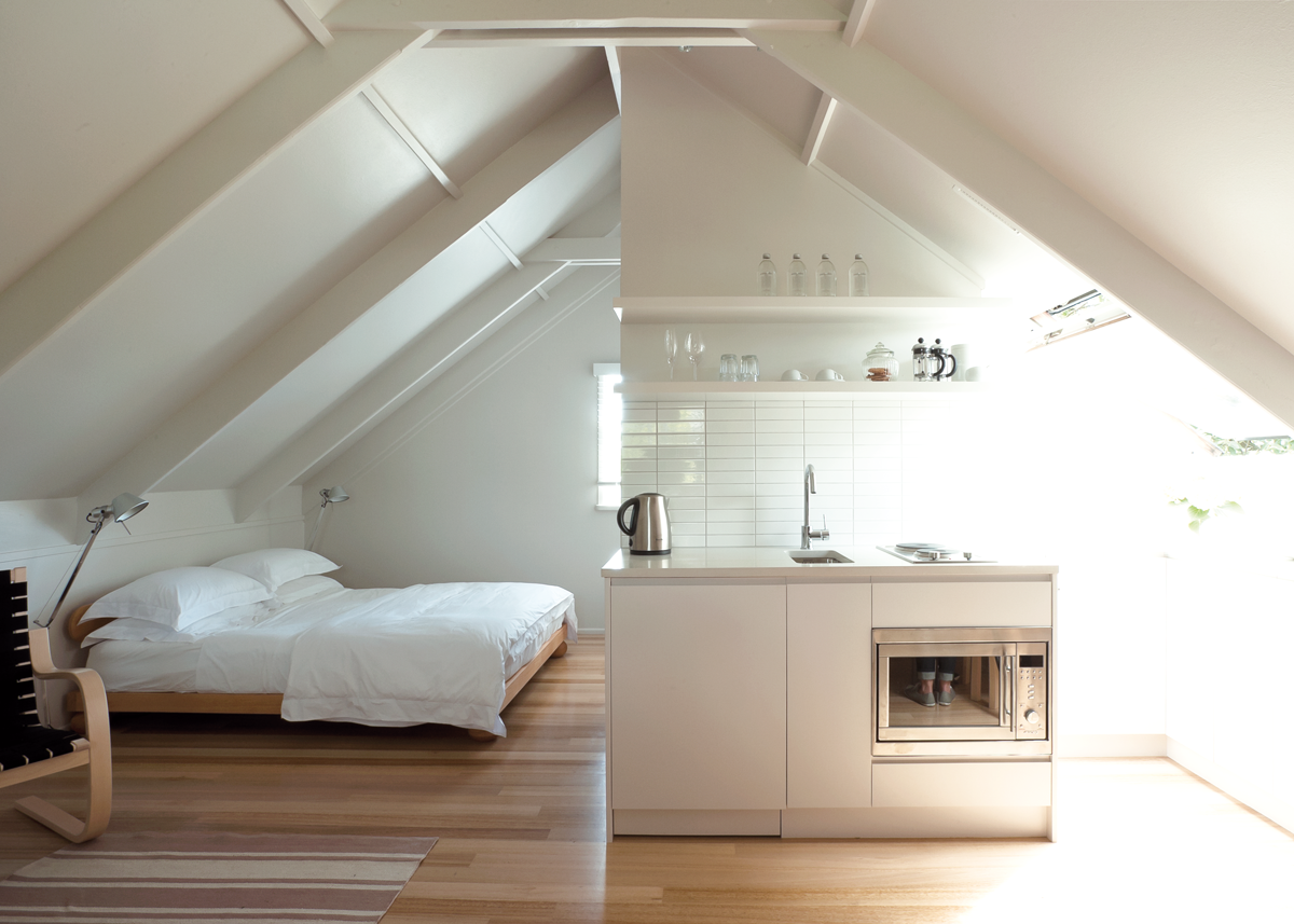 tiny attic apartment ideas - SIX BY EIGHT