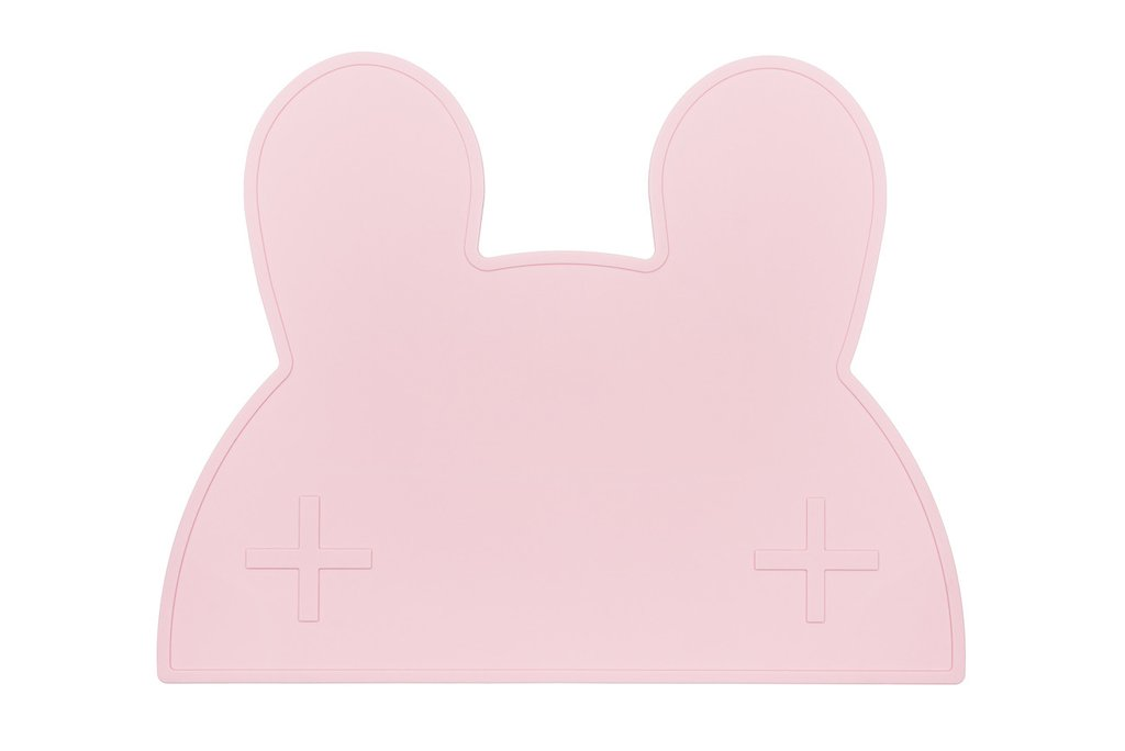 We Might Be Tiny Bunny Placemat Pink