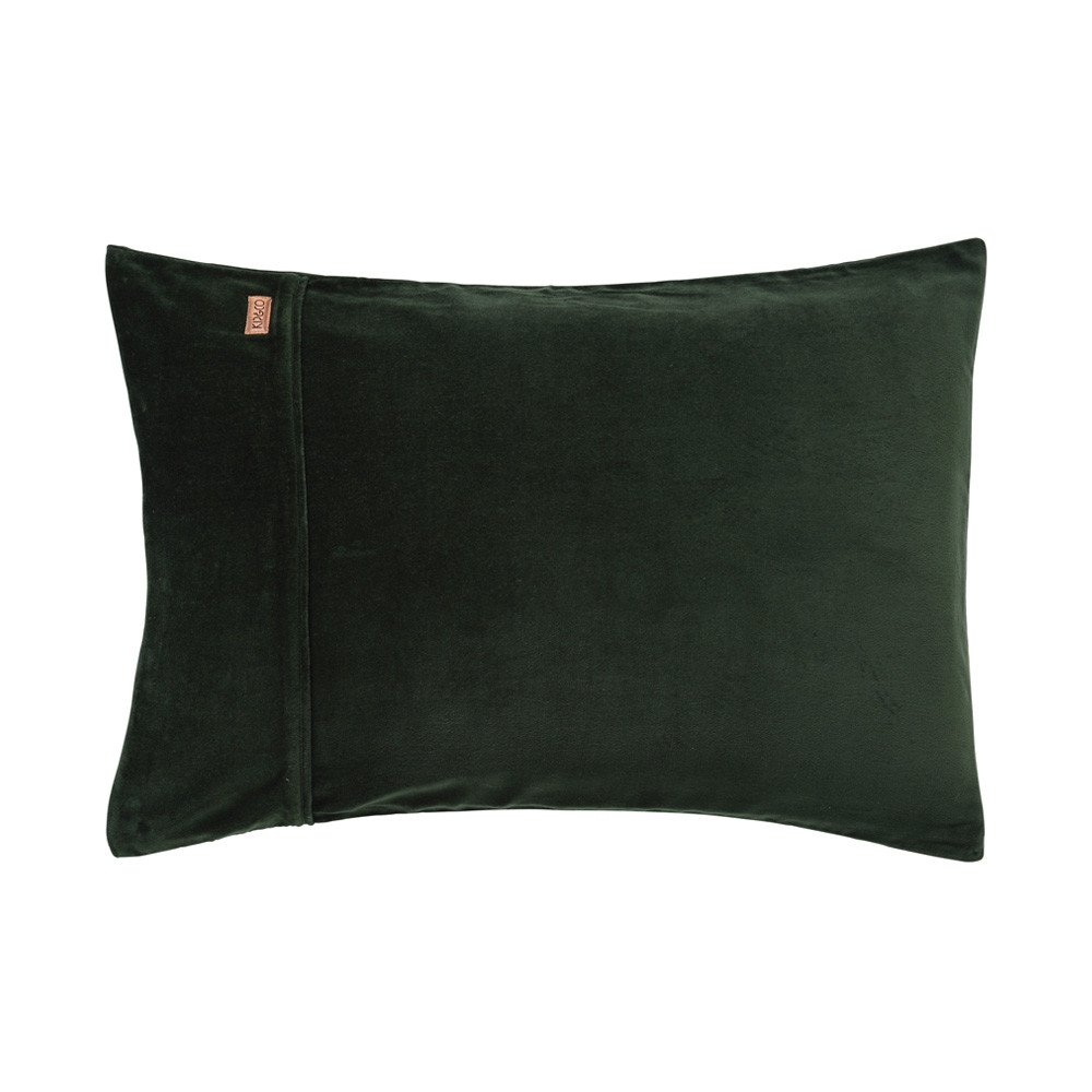 Kombu Green Velvet Pillowcase