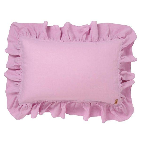 kip_co-aw18-orchid-linen-frill-pillowcase